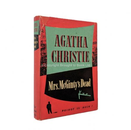 Mrs McGinty's Dead by Agatha Christie First Edition The Crime Club by Collins 1952